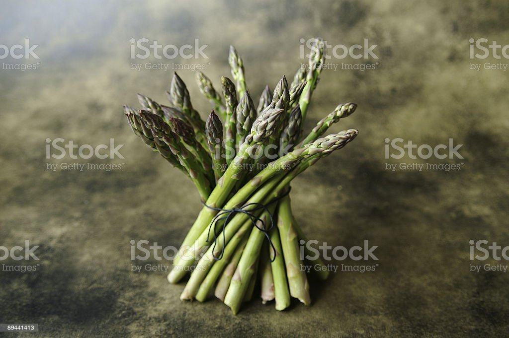 Bundle of asparagus royalty-free stock photo