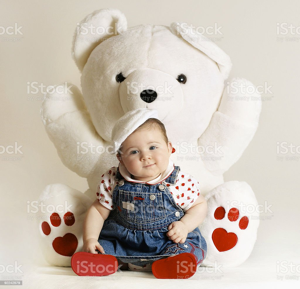 Bundle of Baby Love royalty-free stock photo