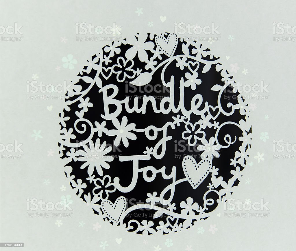 Bundle of Joy royalty-free stock photo
