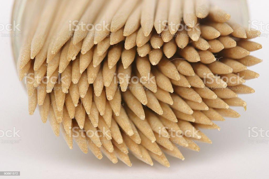 Bundle of sticks royalty-free stock photo
