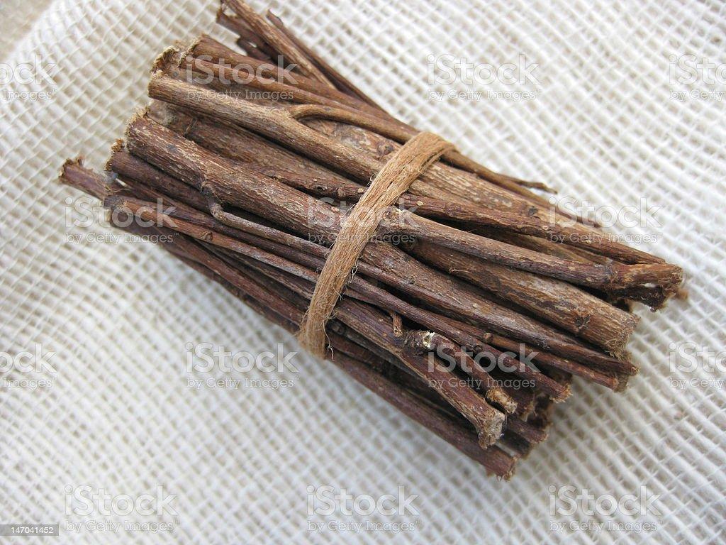 Bundle.  Twigs royalty-free stock photo
