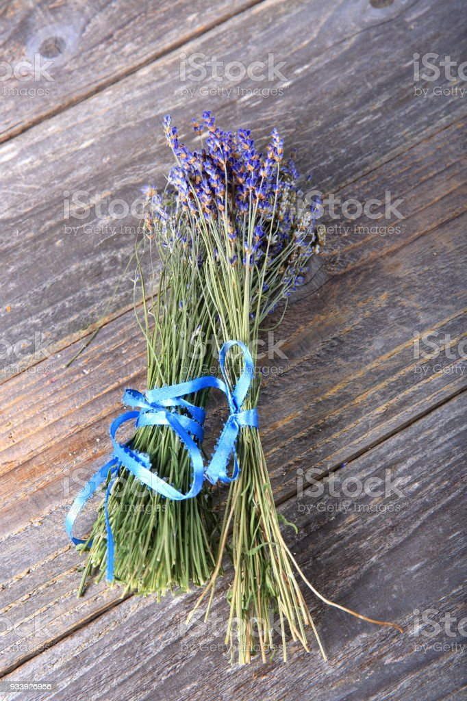 Bundles Of Dried Lavender Stock Photo - Download Image Now