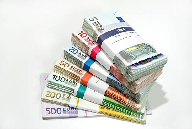Paquetes de dinero - foto de stock