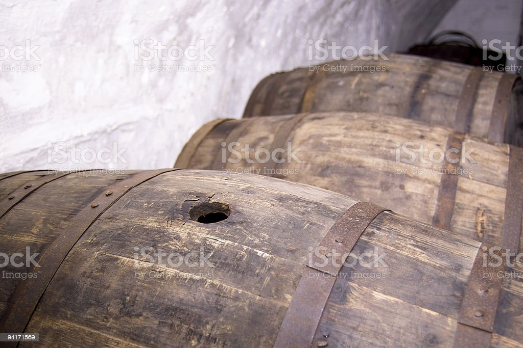 Bung Hole royalty-free stock photo