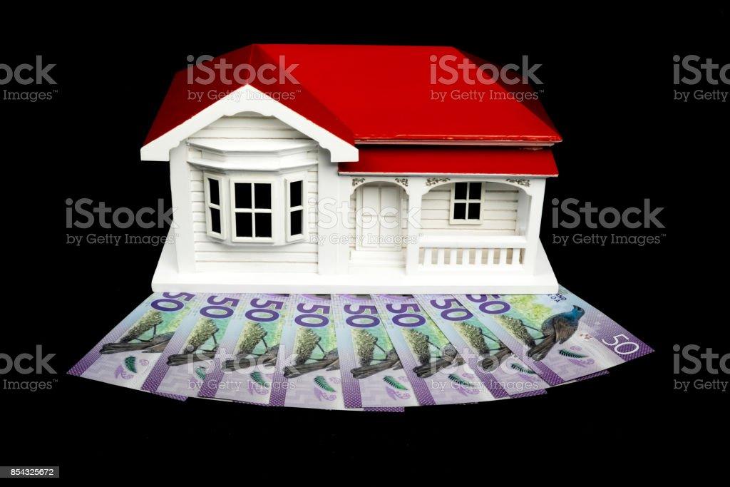 Fotografía de Modelo De La Casa Villa Bungalow Con Dólares De Nueva ...