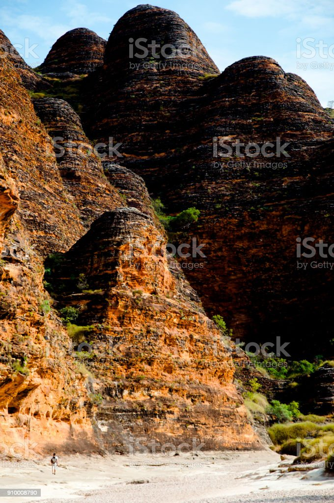 Bungle Bungle Range stock photo