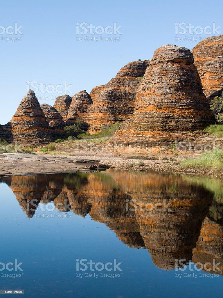 Bungle Bungles at Purnululu National Park, Australia stock photo