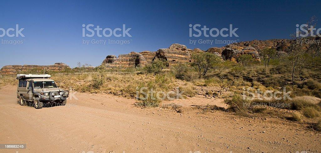 Bungle Bungles Off-Road stock photo