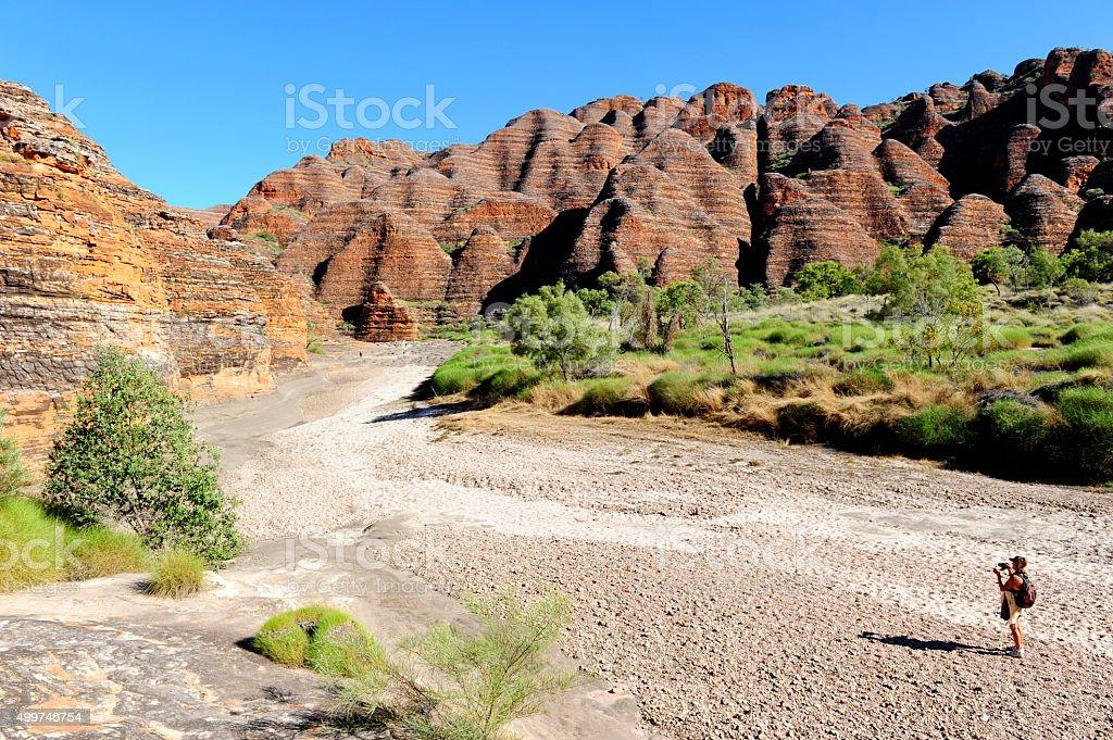 Bungle Bungles Purnululu Australia stock photo
