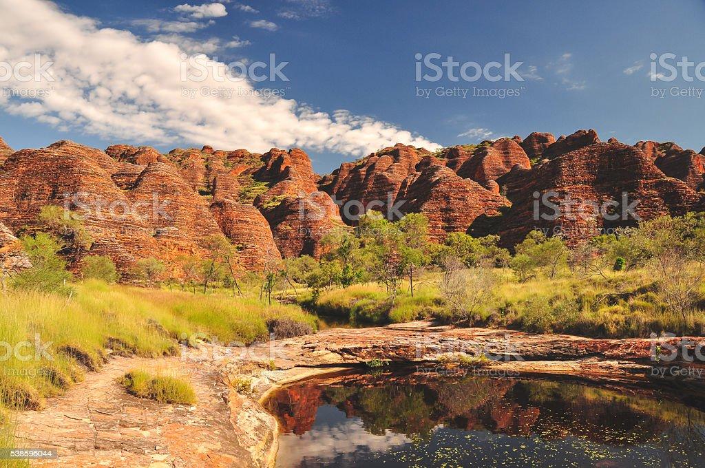 Bungle Bungles river stock photo