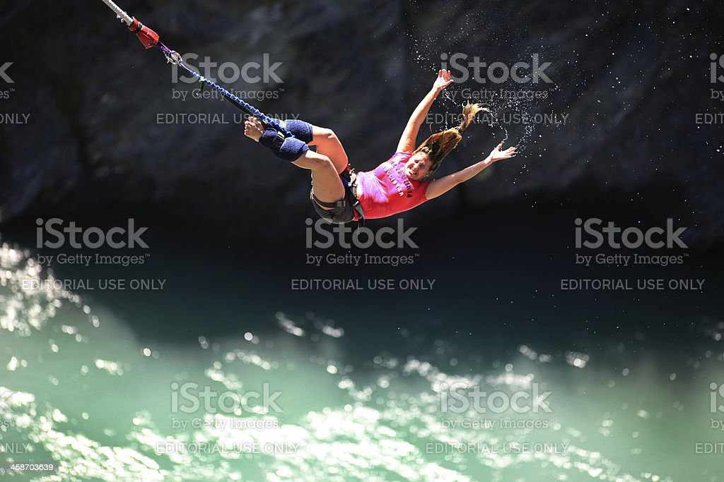 Bungy Jumping stock photo