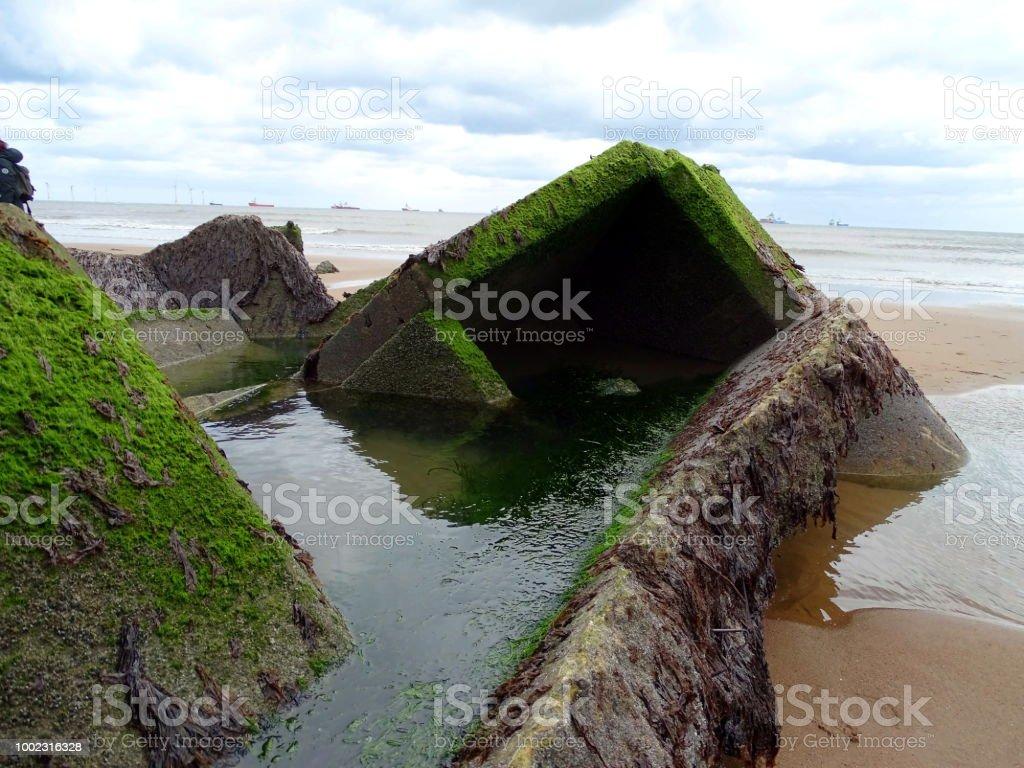 Bunker am Strand – Foto