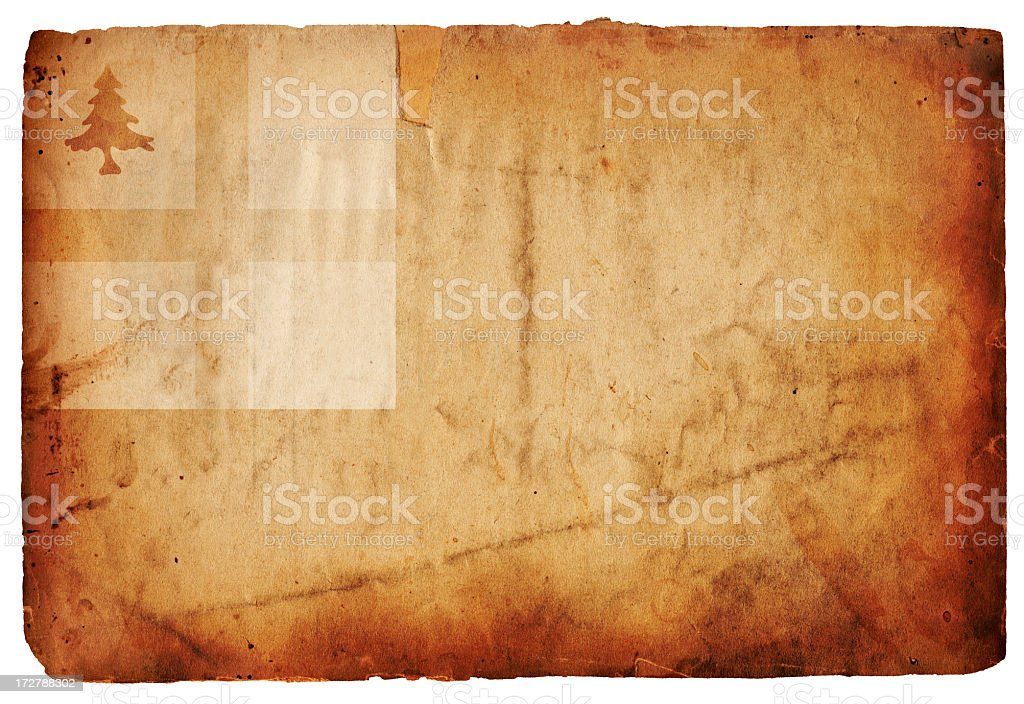 Bunker Hill Flag XXXL royalty-free stock photo