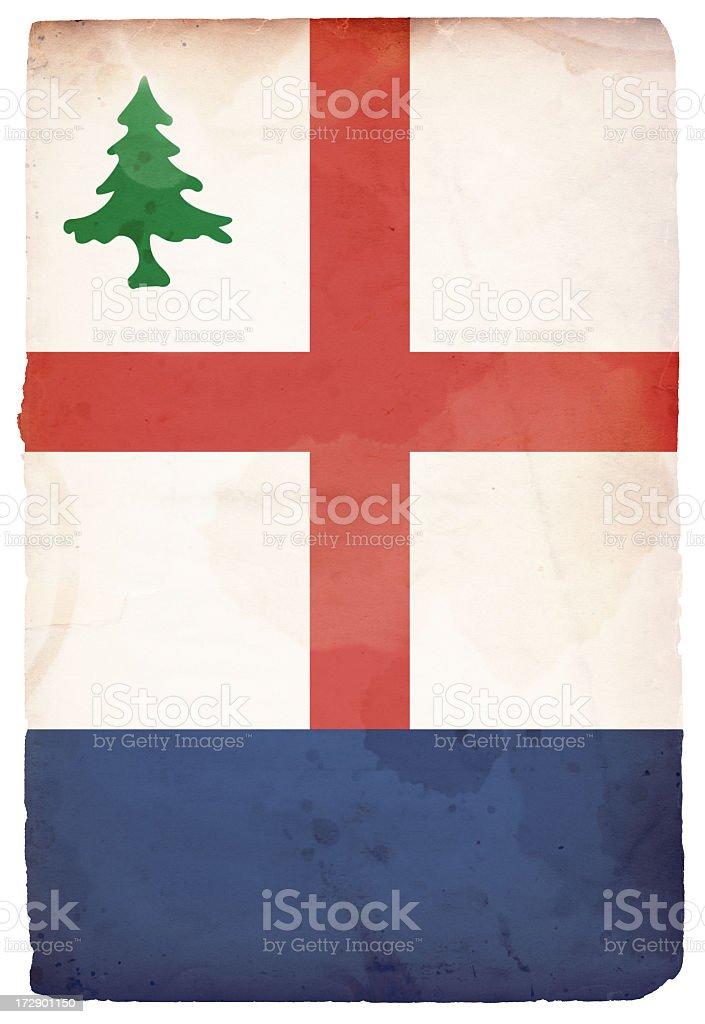 Bunker Hill Flag XXXL royalty-free stock photo