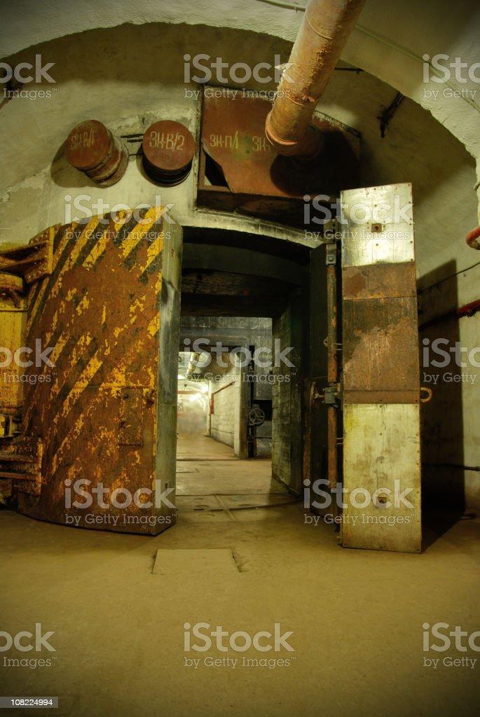 USSR bunker stock photo