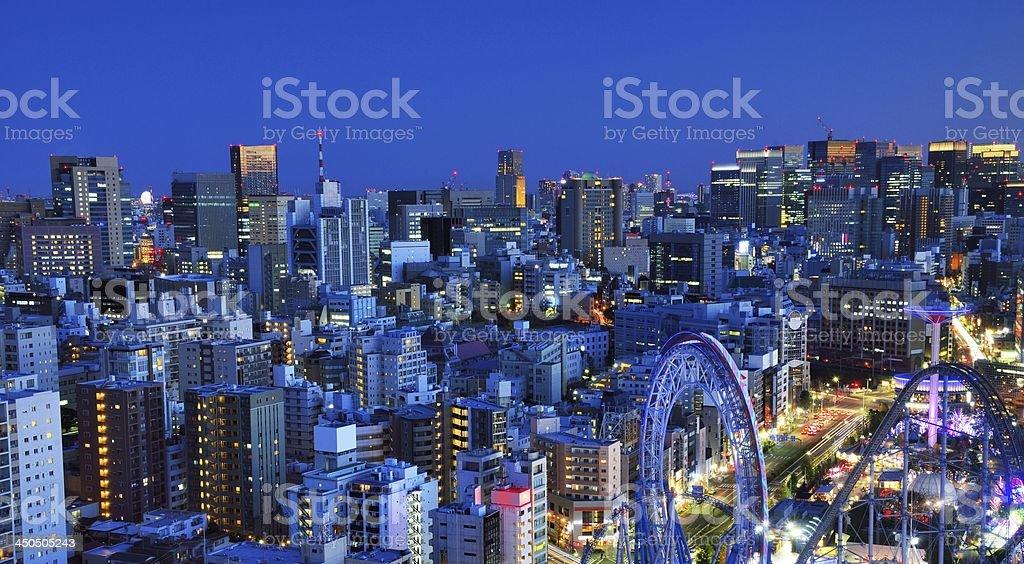 Bunkyo Ward of Tokyo stock photo