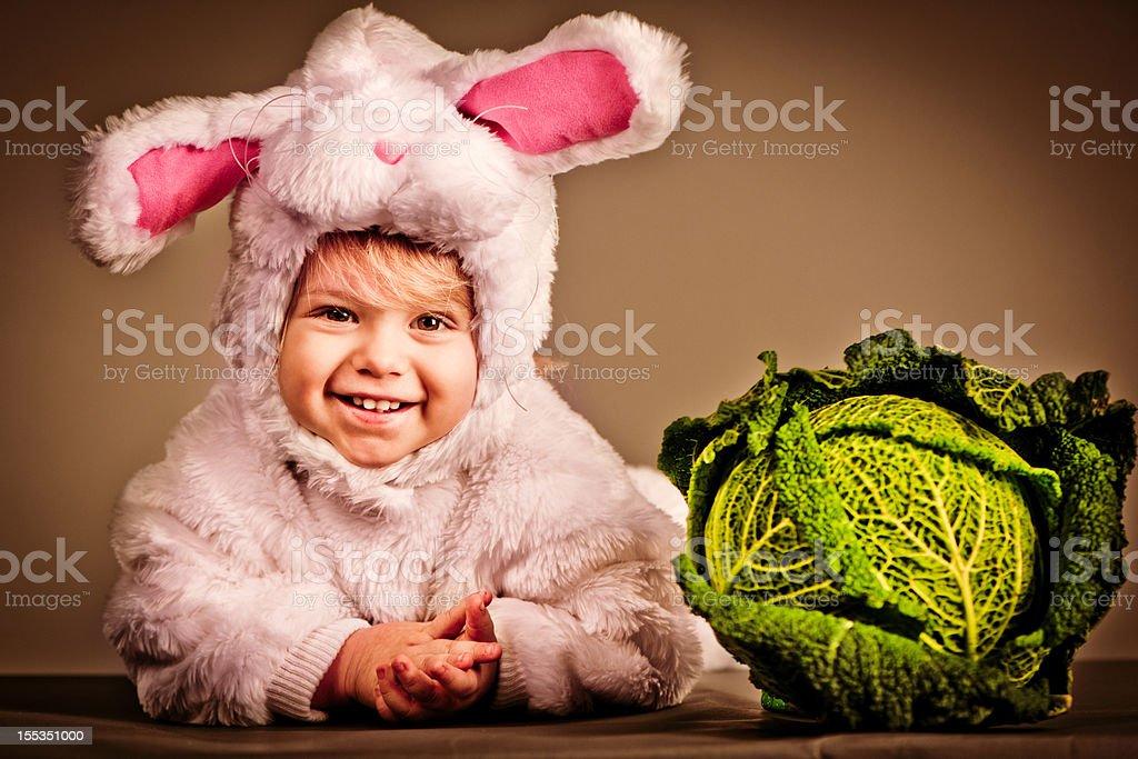 Bunny babe royalty-free stock photo