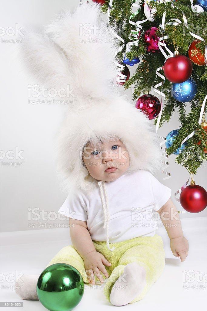 Bunny Boy royalty-free stock photo