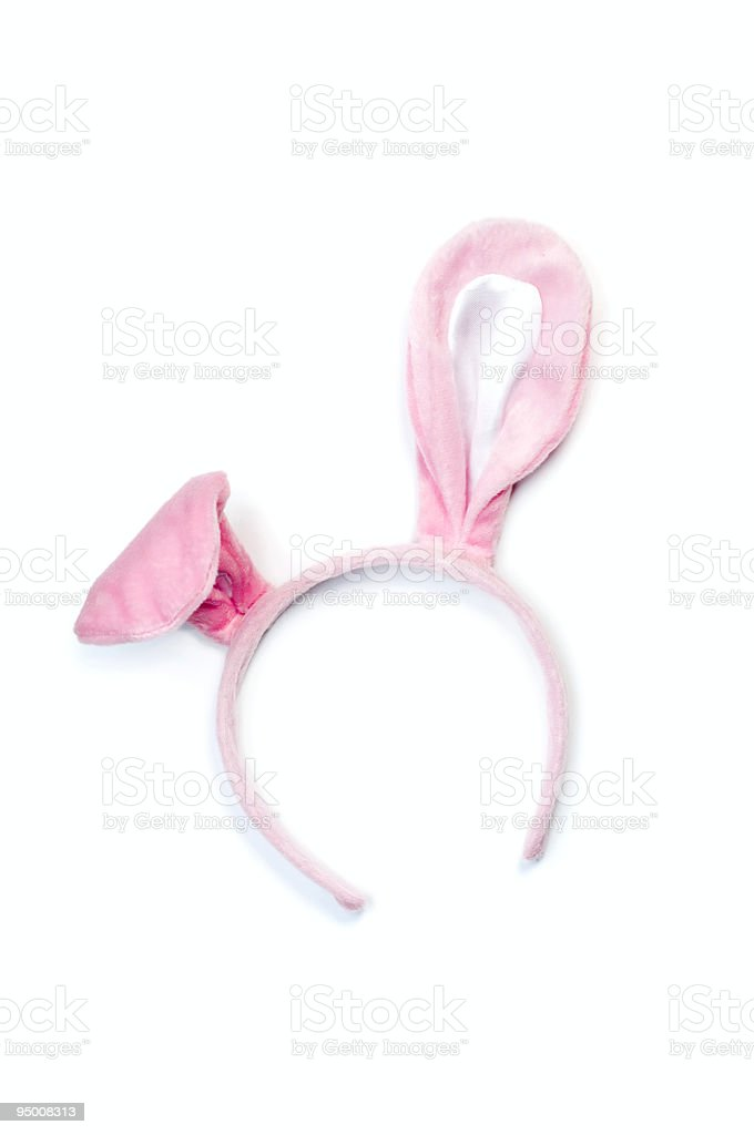 Bunny Hat stock photo