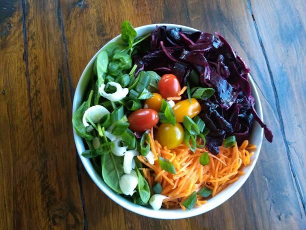 Bunter Rialhaft Salat – Foto