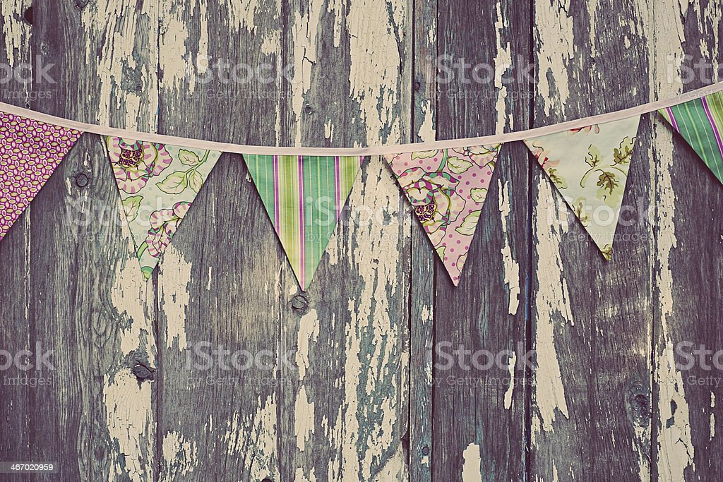 Bunting Flags stock photo