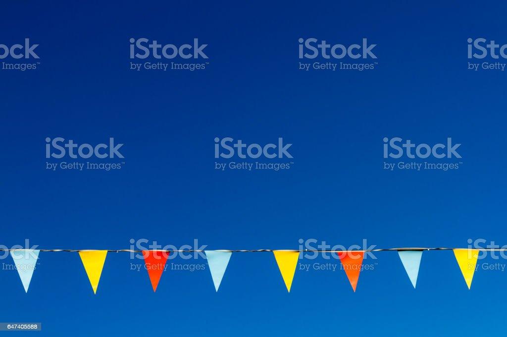 Bunting stock photo