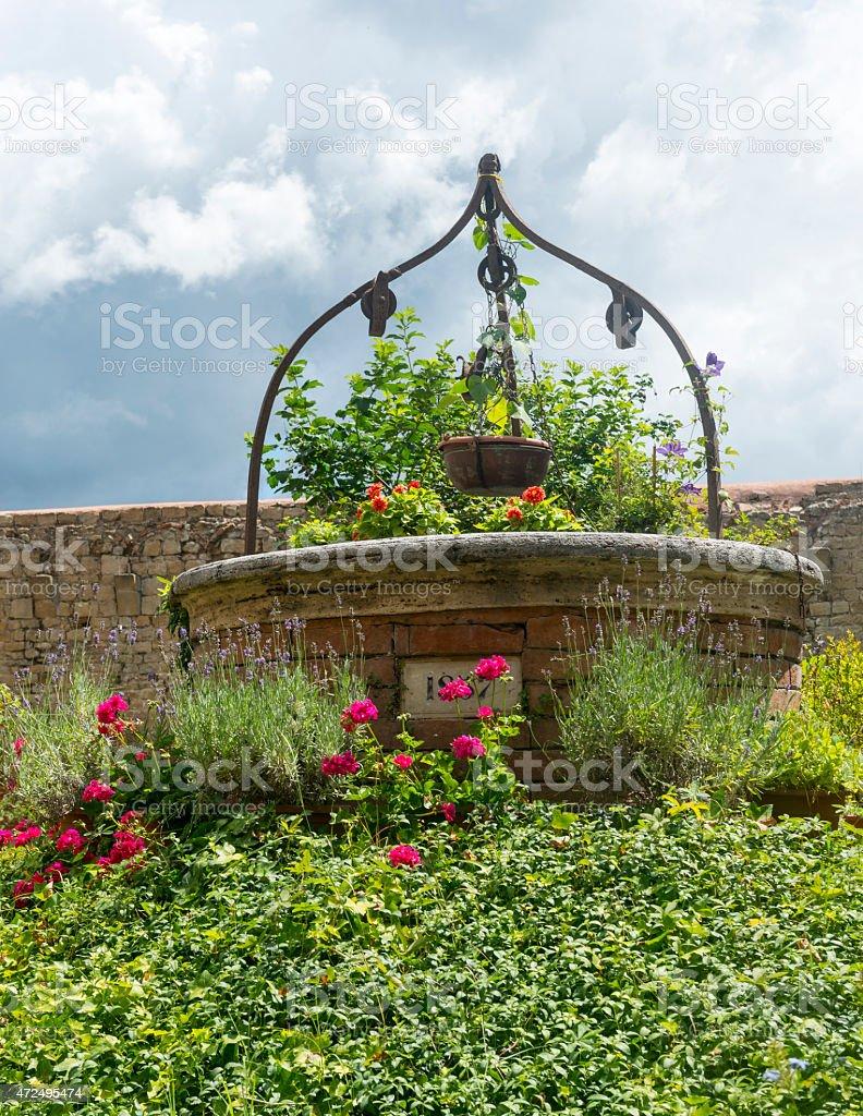 Buonconvento (Tuscany, Italy) stock photo