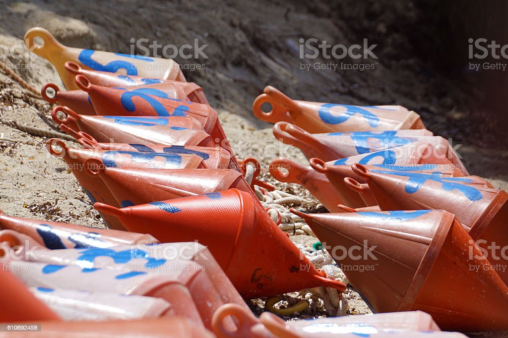 buoy nautical stock photo