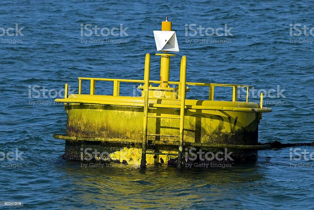 Buoy royalty-free stock photo