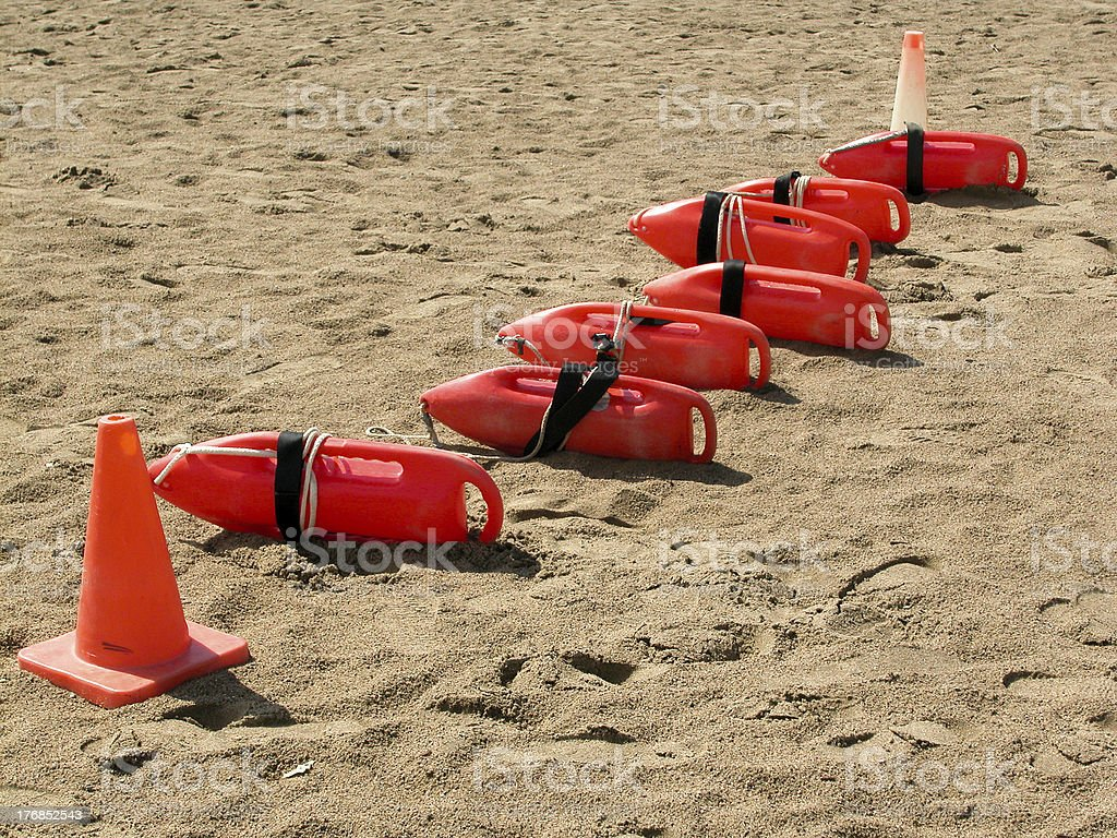 Buoys of summer. royalty-free stock photo