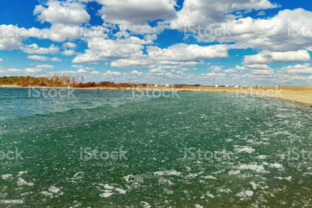 Burabay National Nature Park in Kazakhstan. royalty-free stock photo