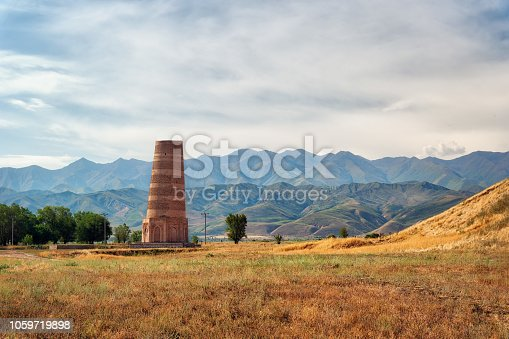 istock Burana Tower close to Bishkek, Kyrgyzstan, taken in August 2018 1059719898