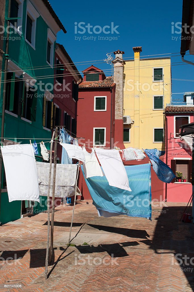 Burano Island - Venice stock photo