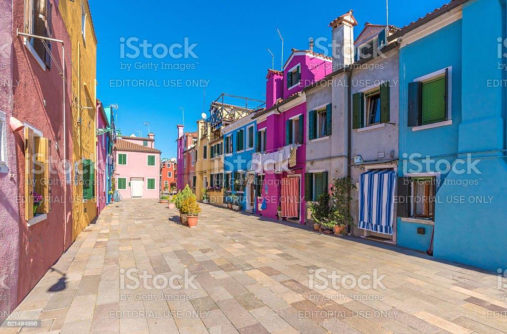 Burano, the the colorful island of Venice (Italy) Lizenzfreies stock-foto
