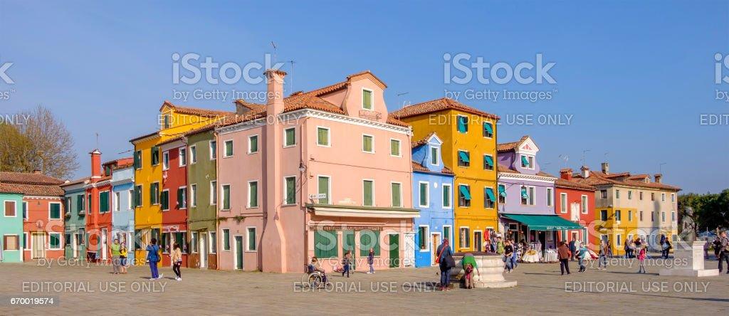 Burano, Venice - Italy stock photo