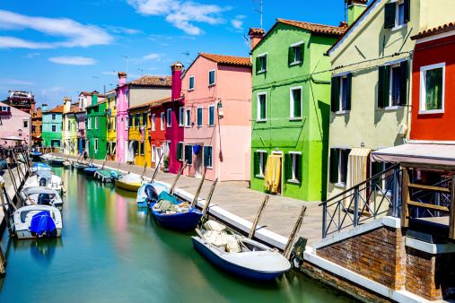 ブラーノヴィラージュ Venise 近く - イタリアのストックフォトや画像を多数ご用意