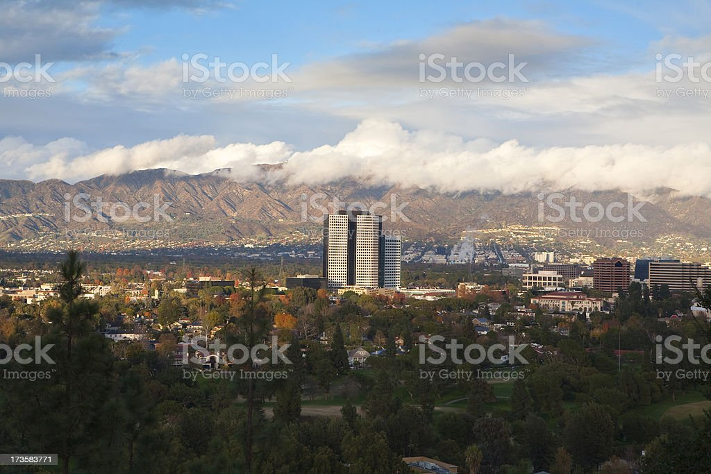 Burbank, California stock photo