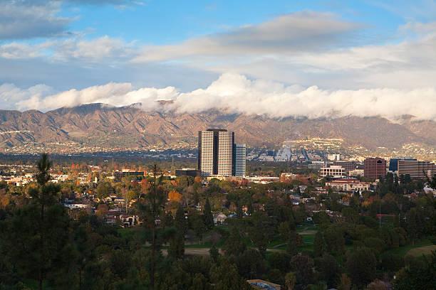 burbank, california - san fernando valley stock photos and pictures