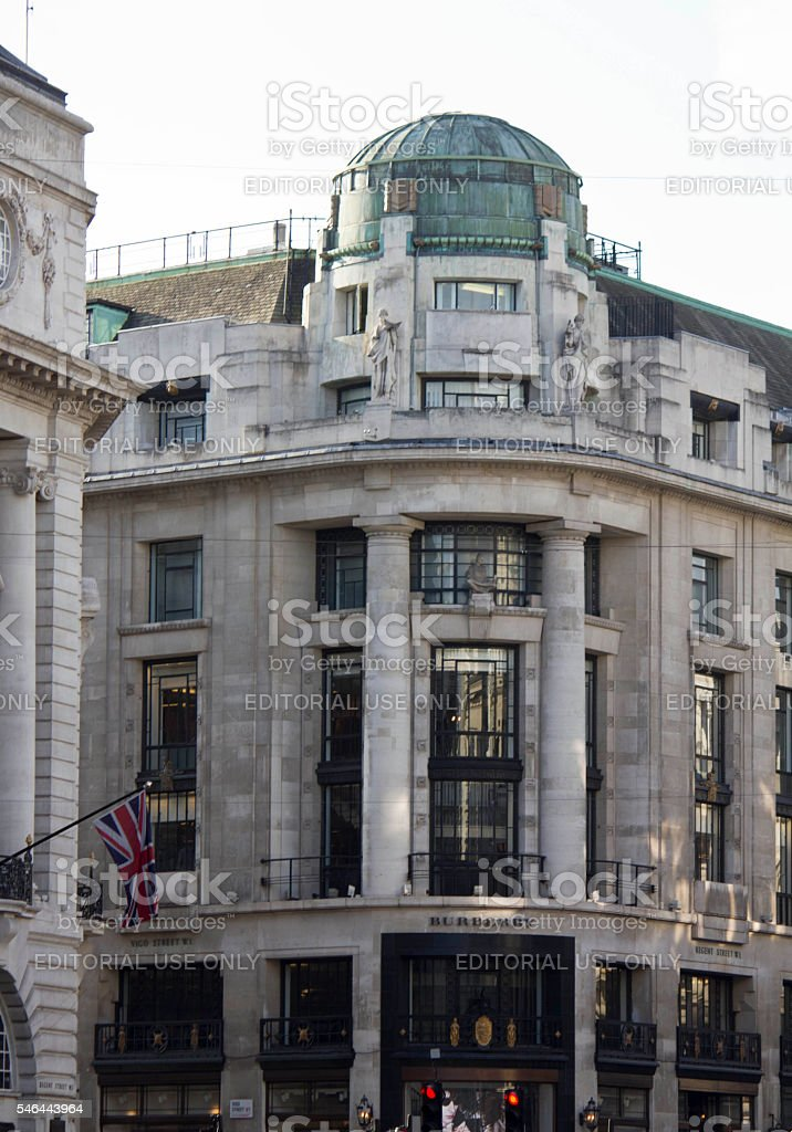 Burberry Historical building stock photo