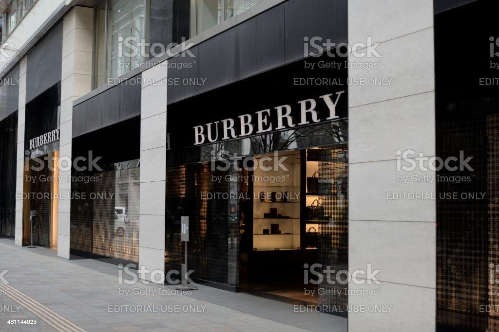 Burberry stock photo