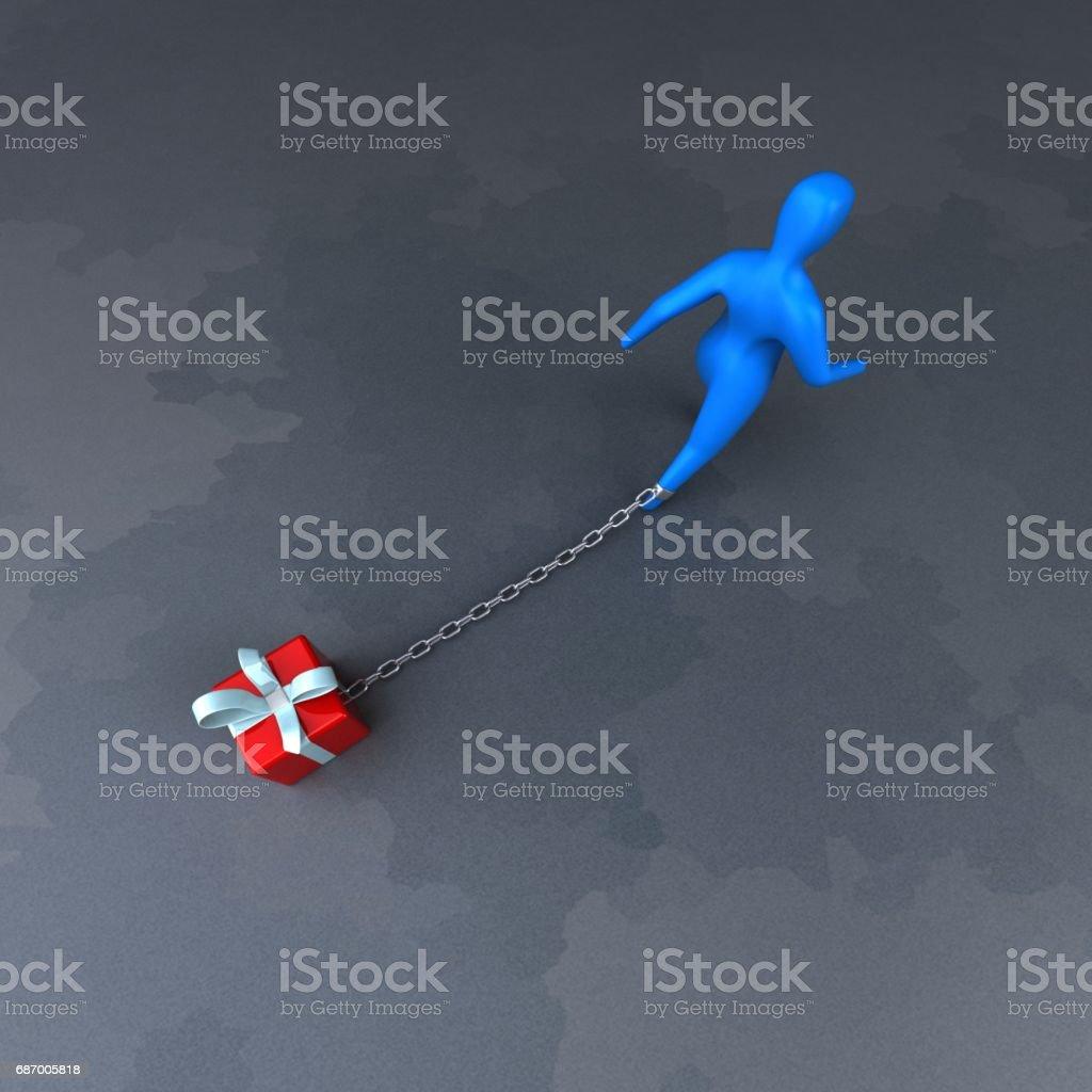 Last-Symbol - 3D Illustration Lizenzfreies stock-foto
