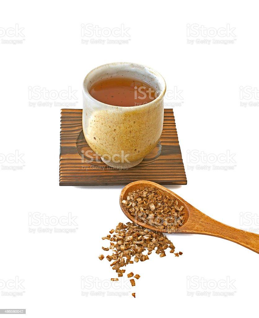 Radice Burdock tè - foto stock