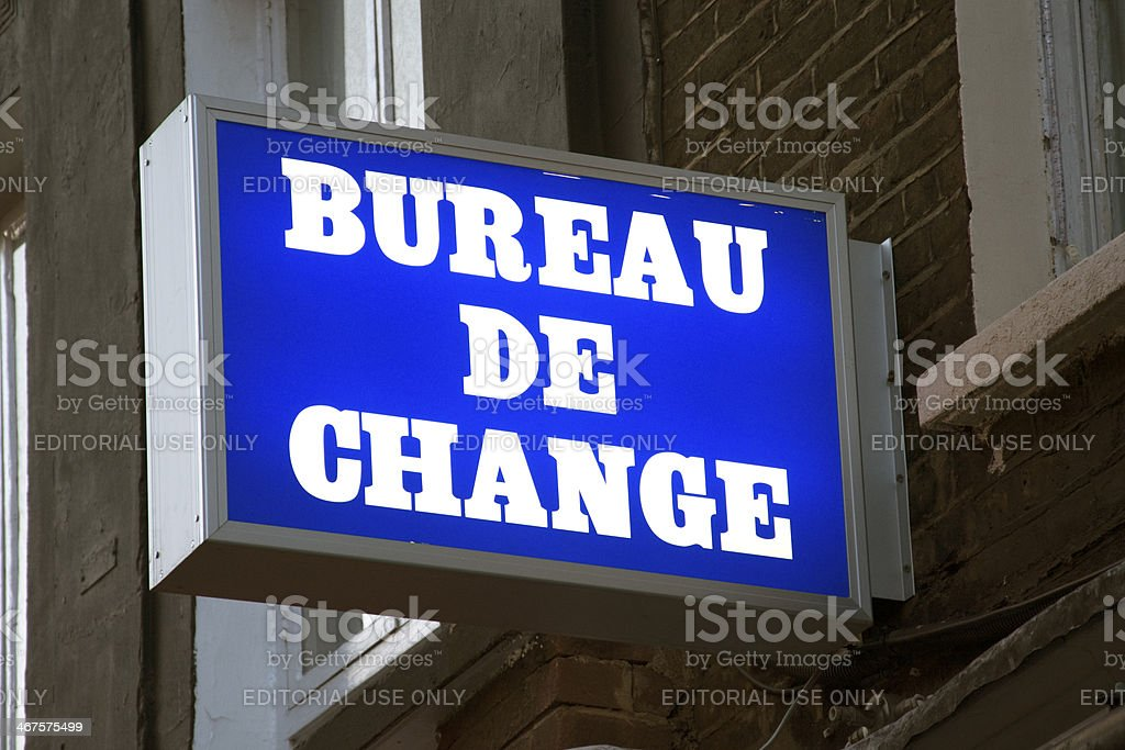 Bureau de change stock photo more pictures of currency
