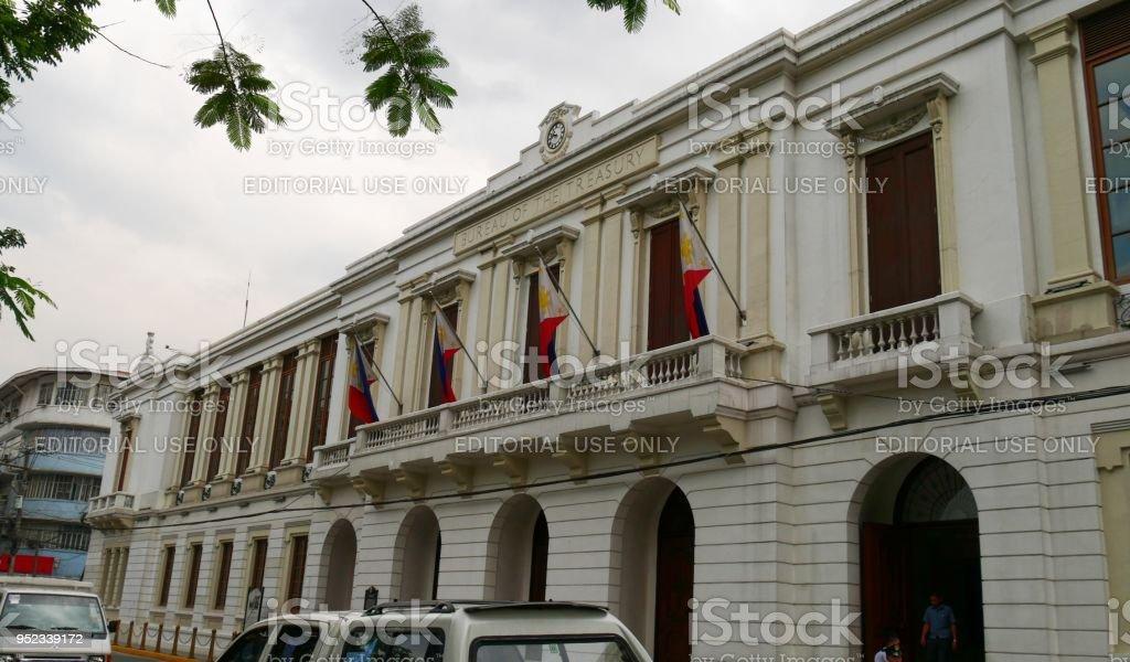 Bureau of treasury building philippines stock photo & more pictures