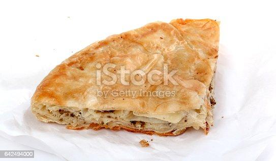 istock Burek with meat , a traditional Balkan food, 642494000