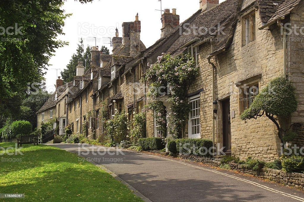 Burford, Oxfordshire stock photo