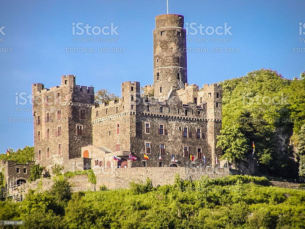 Burg Maus stock photo