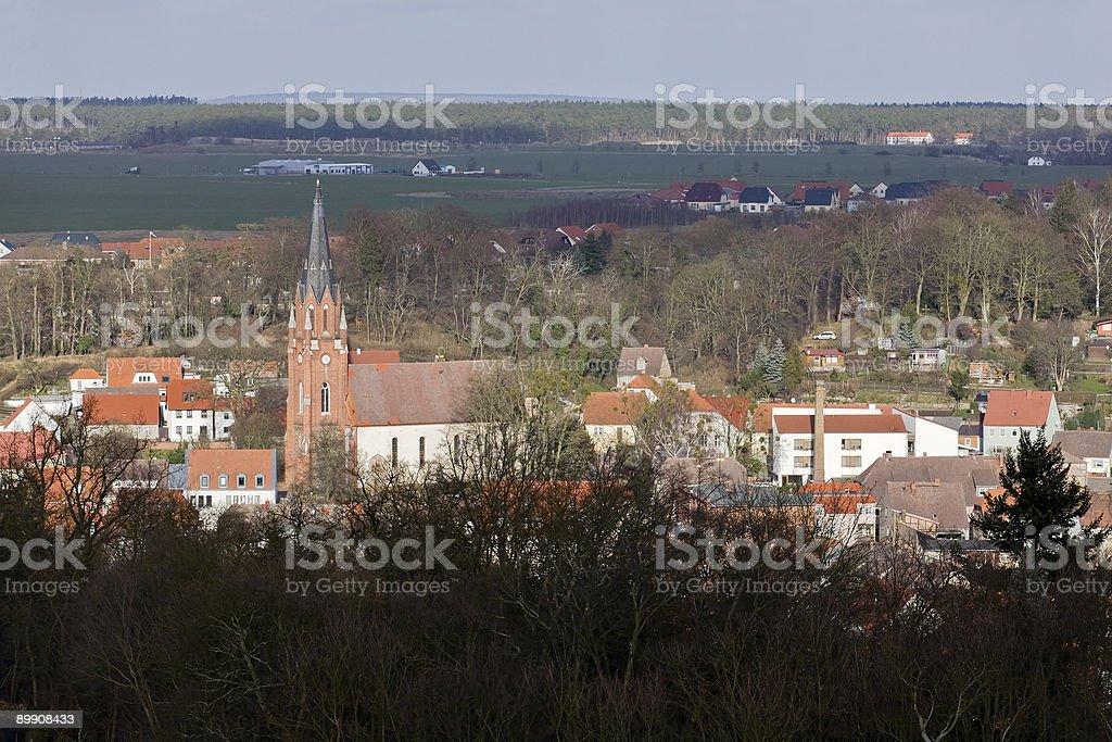 Burg Stargart en Mecklenburg Vorpommern foto de stock libre de derechos