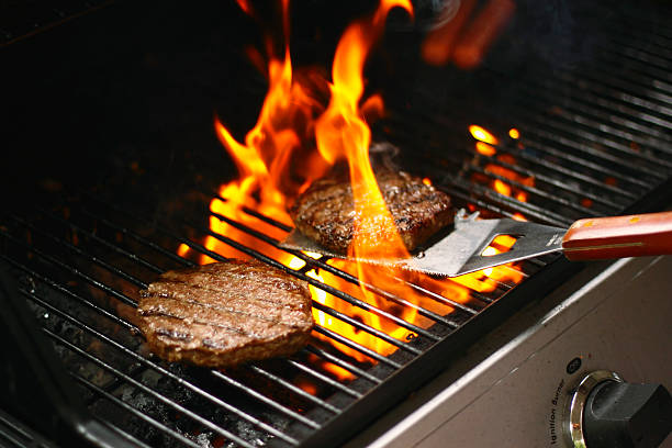 Burger-Barbecue – Foto