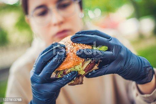 istock Burger cravings 1227813768